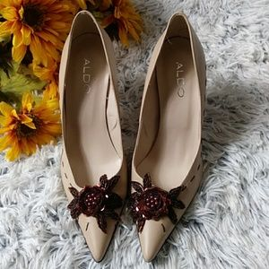 Aldo Pointed Toe Heels size 8